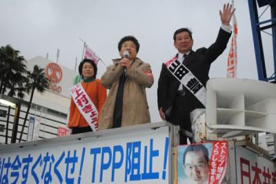 2014.2.27党労働者後援会宣伝 053