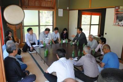 2016.5.19南佐古砂防・イノシシ対策 (1)