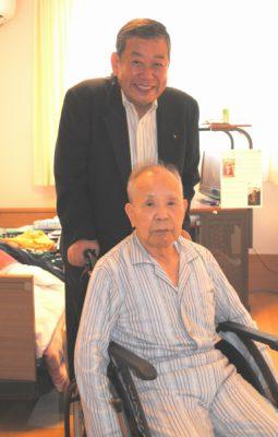 2017.9.10.山田県議が90歳超党員訪問 (3)