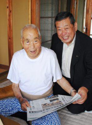 2017.9.10.山田県議が90歳超党員訪問 (5)