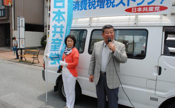 2018.5.18.四国いっせい宣伝・県庁前 (4)