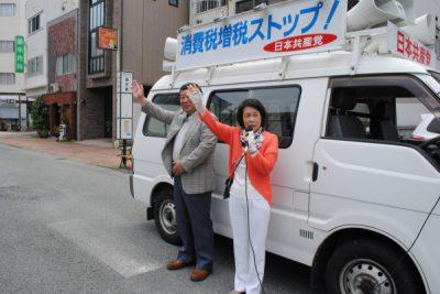 2018.5.18.四国いっせい宣伝・県庁前 (1)